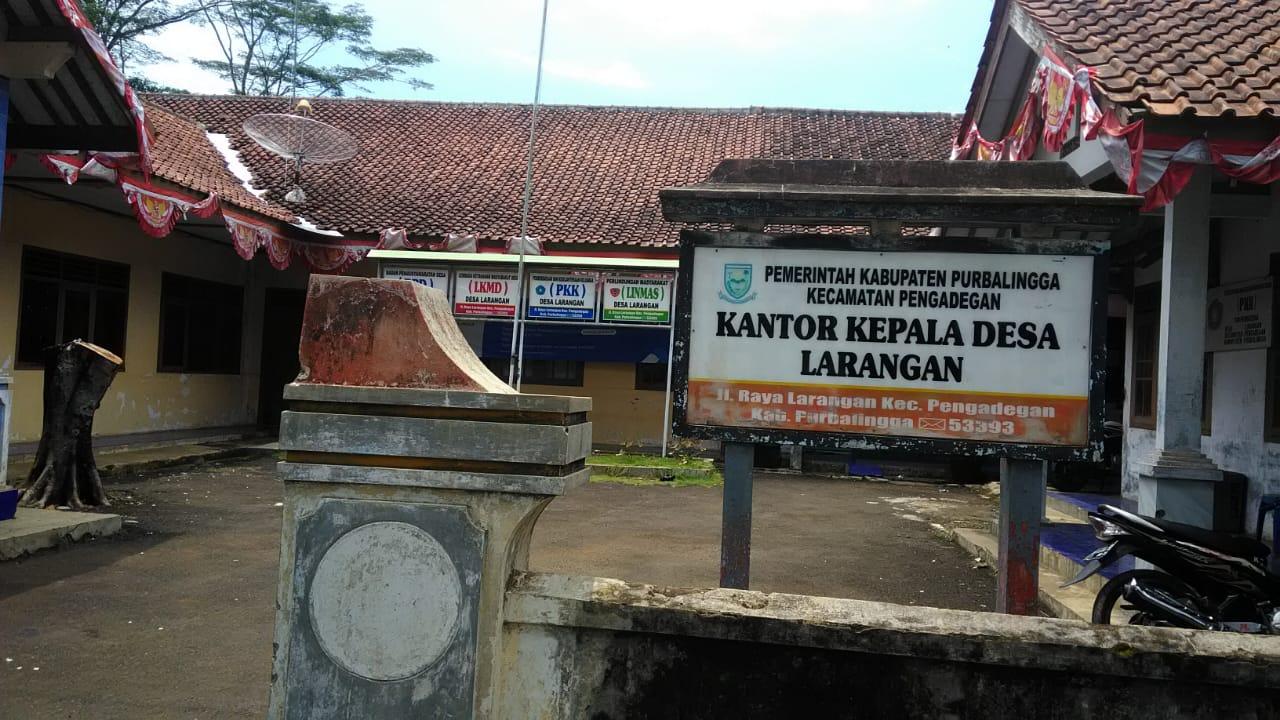 Desa Larangan Kecamatan Pengadegan Kabupaten Purbalingga